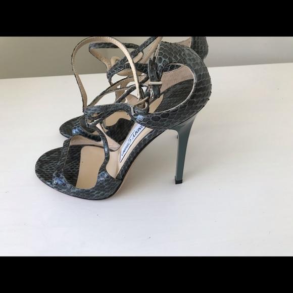 234c4c995c49 Jimmy Choo Shoes - Jimmy Choo Lance Snake leather Sandals